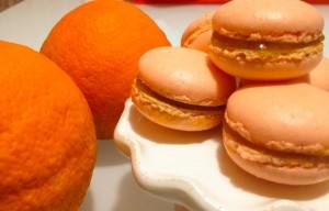 macaron all'arancia